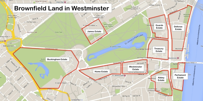 Brownfield Land in Westminster