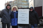 January 2014, protesters against Hackney Labour Council closing Kingsland Waste Market.