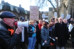 January 2016, march against the Conservative Government's Housing and Planning Bill.