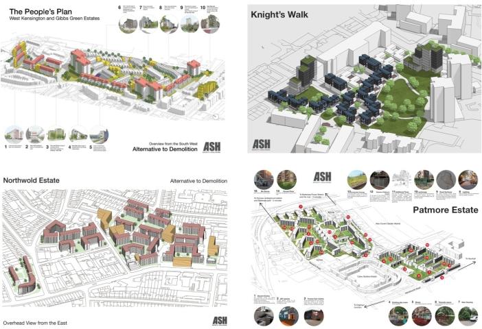 ASH design alternatives to demolition