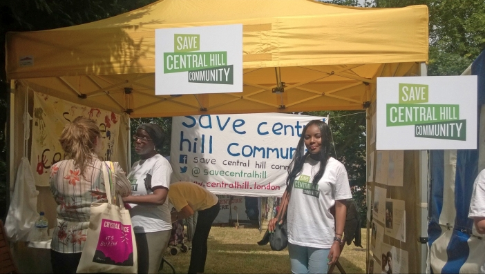 Save Central Hill Community campaign, Crystal Palace