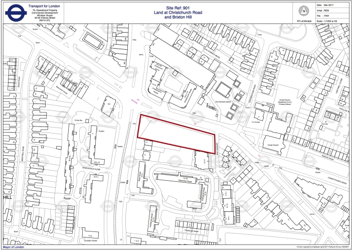 Ordnance Survey, Land at Christchurch Road and Brixton Hill