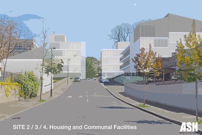 ASH, Sites 2/3/4: Housing and Communal Facilities