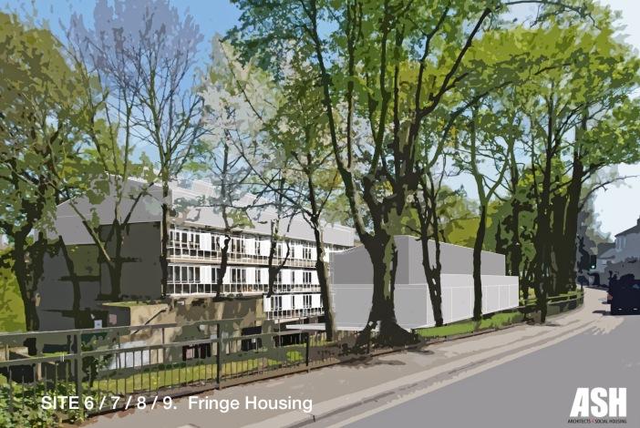 ASH, Sites 6/7/8/9. Fringe Housing