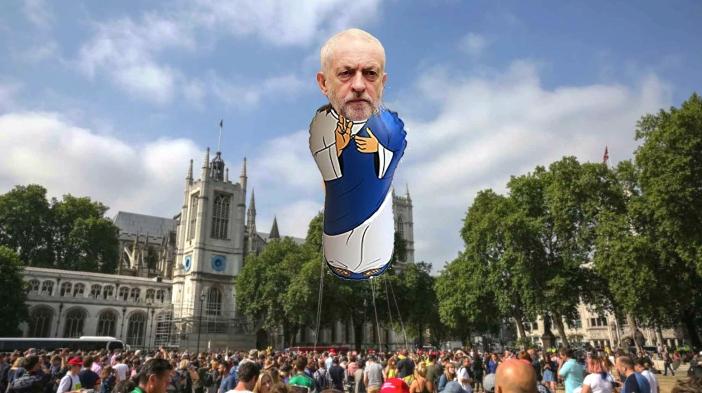 Jeremy Corbyn Blimp